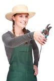 Young gardener Stock Photography