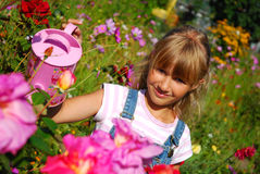 Young gardener Stock Photo