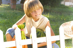 Young gardener Royalty Free Stock Image