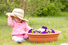 Young gardener Stock Photos