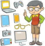 Young Geek Stock Images