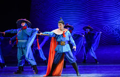 """Young generals-Dance drama """"The Dream of Maritime Silk Road"""". Dance drama """"The Dream of Maritime Silk Road"""" centers on the plot of two Royalty Free Stock Photo"""