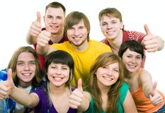 Young generation Royalty Free Stock Image