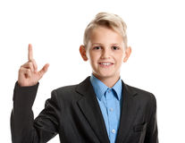 Young genious pupil Stock Photo