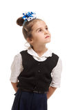 Young genius girl Royalty Free Stock Photo