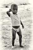 Young Ghanaian boy poses for the camera Stock Photography