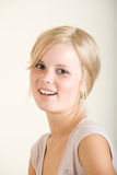 Young girl. Young attractive blonde teen girl Royalty Free Stock Photo