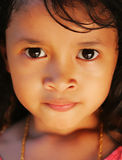 Young girl. A young Asian girl portrait Stock Photography