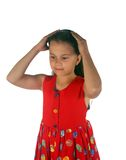 Young girl 14 royalty free stock photo