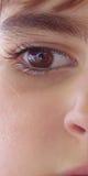 Young Girl. Big eye Royalty Free Stock Photo