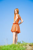A young girl Royalty Free Stock Photos