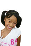 Young girl. Young asian girl smiling stock photos