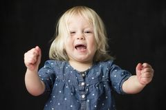 Excited Toddler Stock Images