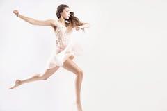 Young girl as a ballet dancer Stock Photos