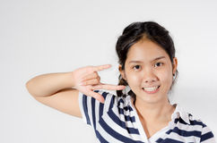 Young girl. Royalty Free Stock Photography