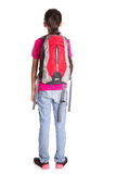 Young Girl With Backpack II Stock Image