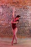 Young girl, ballerina, Stock Photography
