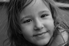 Young Girl on portait Royalty Free Stock Photo