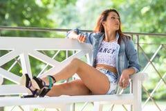 Young girl Stock Image