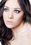 Young girl beauty portrait Stock Image