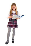 Young Girl And The Book. Royalty Free Stock Images