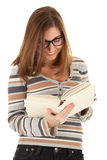 Young girl with book in the hand Royalty Free Stock Photo