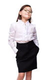 Young girl business Royalty Free Stock Photo