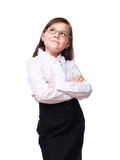Young girl business Stock Photography