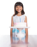 Young Girl Celebrate Birthday IV Stock Photos