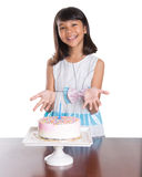 Young Girl Celebrate Birthday IX Royalty Free Stock Images