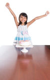 Young Girl Celebrate Birthday VII Royalty Free Stock Images