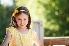 Girl with an attitude Stock Photography