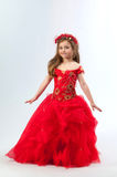 A young girl in costume Royalty Free Stock Photography