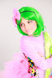 Young girl in costume Stock Photos