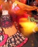 Young girl dancing Stock Photo