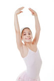 Young girl dancing classical ballet Stock Photo