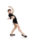 Young girl dancing Royalty Free Stock Image