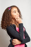 Young girl day dreaming Stock Photo