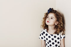Young girl daydreaming Royalty Free Stock Photos