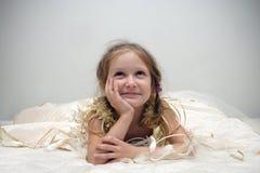 Young girl dreams Stock Photo