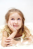 Young girl dreams Royalty Free Stock Photo