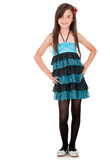 Young girl in a dress Royalty Free Stock Photo