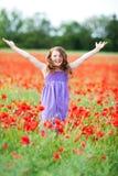 Young girl enjoying the summer Stock Image