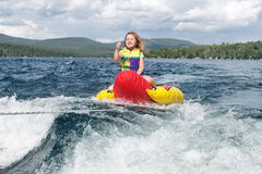 Free Young Girl Enjoying The Tow Stock Image - 21029221