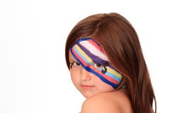 Young Girl with Face Paint Royalty Free Stock Images