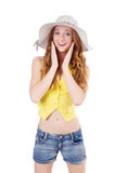 Young girl in fashion concepts Stock Image