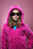 Young Girl Fashion Portrait. A young girl in winter clothing poses for a portrait royalty free stock photography