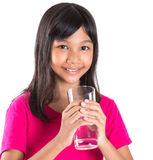 Young  Girl With A Glass Of Water III Royalty Free Stock Image