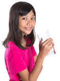 Young  Girl With A Glass Of Water VI Royalty Free Stock Photography