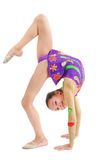Young Girl Gymnast Royalty Free Stock Images